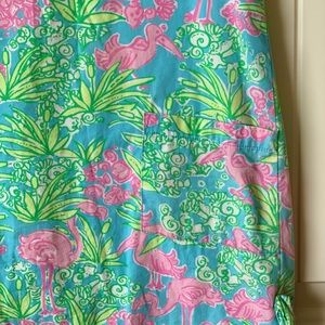 Lilly Pulitzer Dresses - Lilly Pulitzer Girls Shift Dress flamingo 4